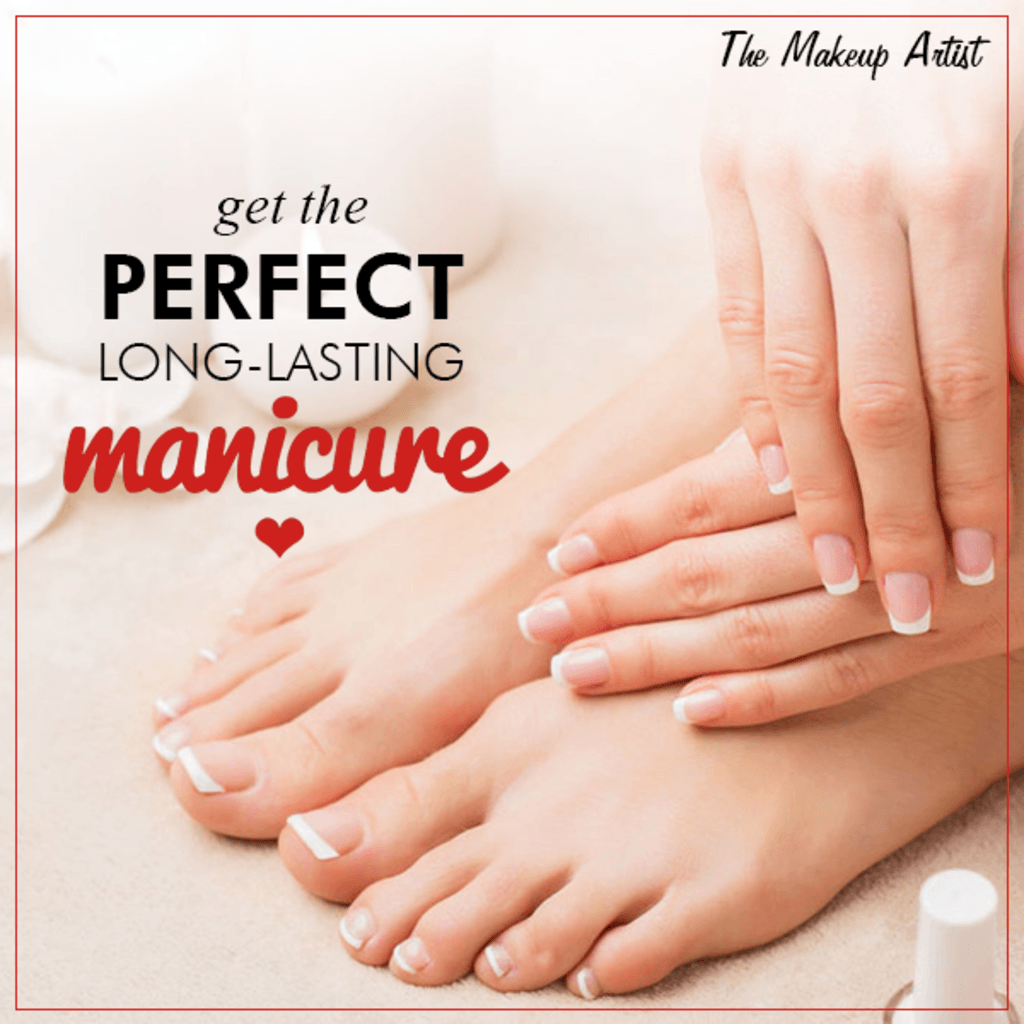 Follow this simple tip and get a perfect Manicure. Like our ... via The Makeup Artist