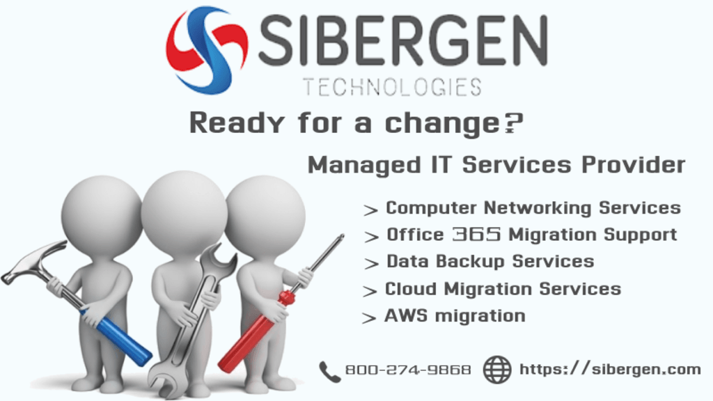 Managed IT Services | 24/7 support | SIBERGEN Technologies via SIBERGEN Technologies