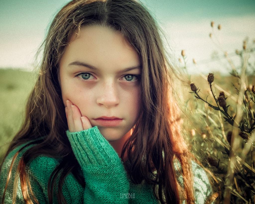 Model~Bo via LimebluPhotography