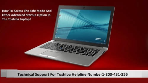 How To Access The Safe Mode And Other Advanced Startup Option In The Toshiba Laptop?