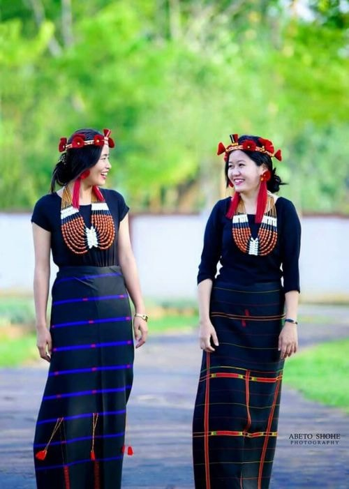 Nagaland  beauty #Naga_girls #traditional #traditional_attire #northeast_india #northeast_india_girls #northeast | Naga Traditional Dress in 2019 | Pinterest | India, Northeast india and Traditional dresses