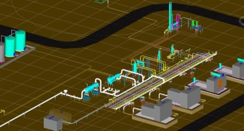 3D Modeling of Compressor Station via kristy perry