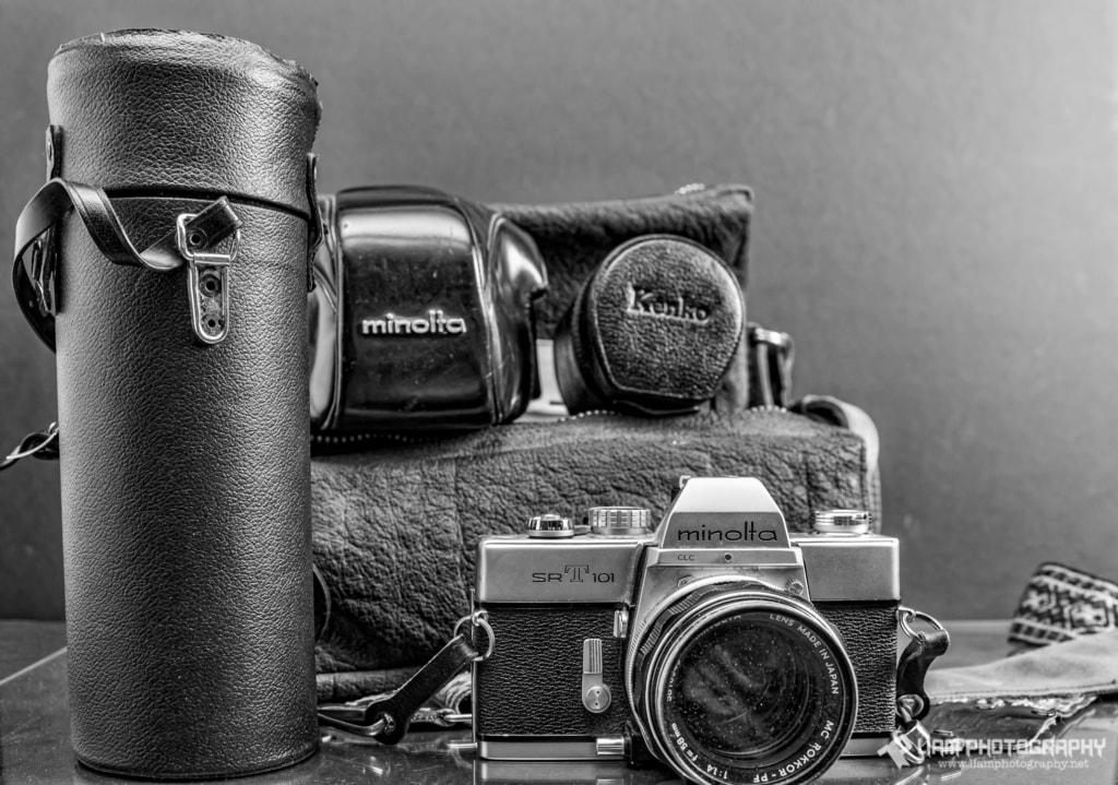 Minolta SR-T 101 via Liam Douglas - Professional Photographer