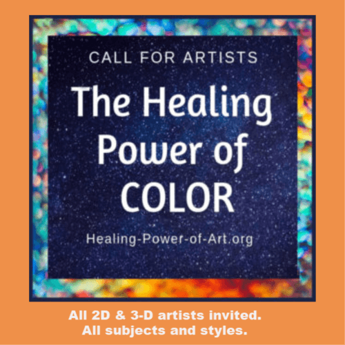 ART CALL: the healing power of color via Jolie Buchanan