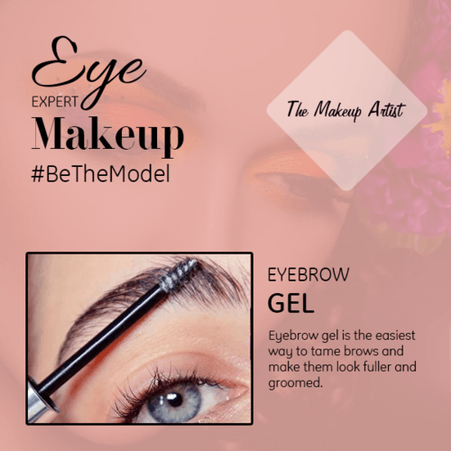 Eyebrow gel works like a hairspray as it is used to keep the... via The Makeup Artist
