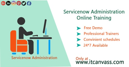 Servicenow Administration Training Online | IT Canvass via itcanvass