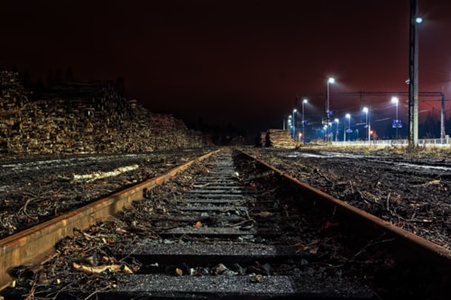 Railroad Tracks To The Horizon via Jukka Heinovirta