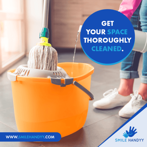 Professional Home Cleaning Abu Dhabi via Smile Handyy