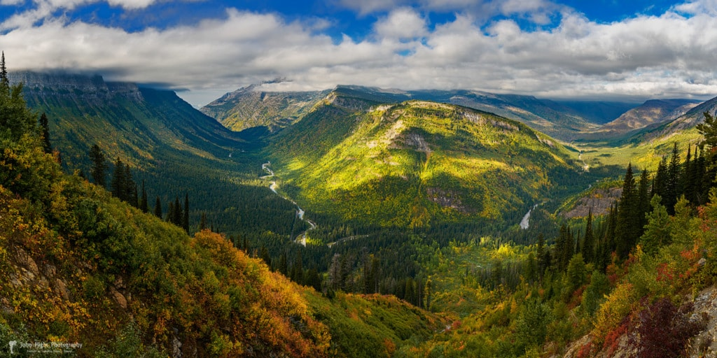 Glacial Valley in Montana's Glacier National Park via John Hight