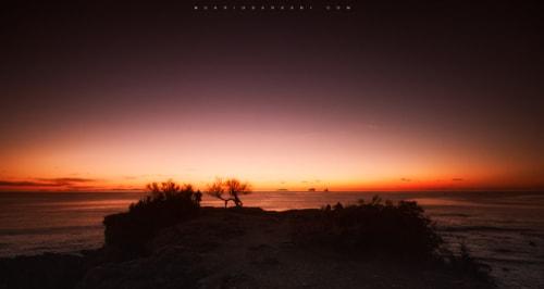 Nuclear Sunset via Dario Barbani
