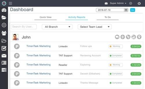 Best Employee Productivity Software via TimenTask