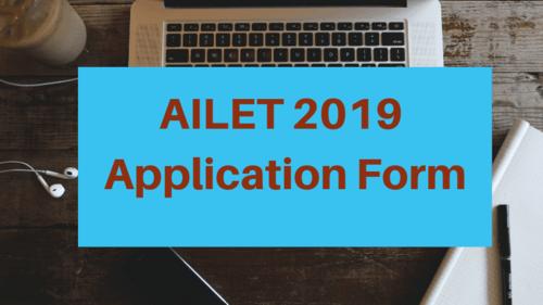 Get AILET 2019 Application Form Details via Prabha Gupta
