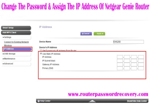 Steps To Setup, Change The Password & Assign The IP Address ... via john