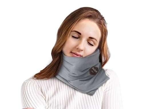 Buzfi Travel Pillow Neck Support Pillow Super Soft Travel Pillow Machine Washable 3 color - Buzfi