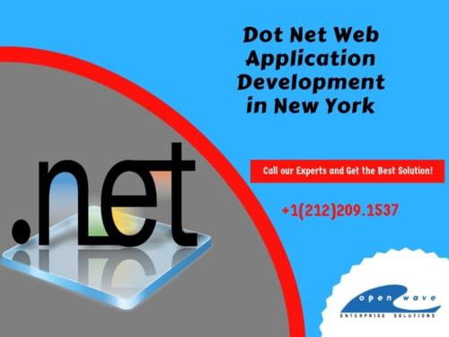 Dot Net Application Development via Kaylee Gavin