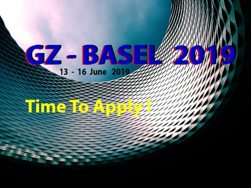 Time to join GZ-BASEL 2019.  Take the opportunity to be seen... via GaleriaZero
