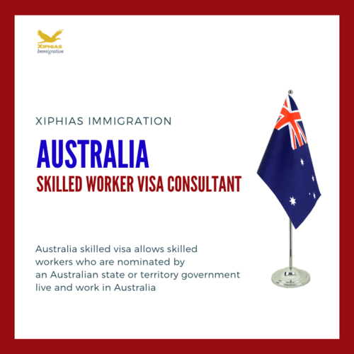Australia Skilled Worker Visa Consultant - XIPHIAS via Sharath