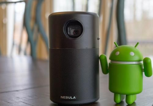 Nebula Capsule - The Best Mini Smart Portable Projector