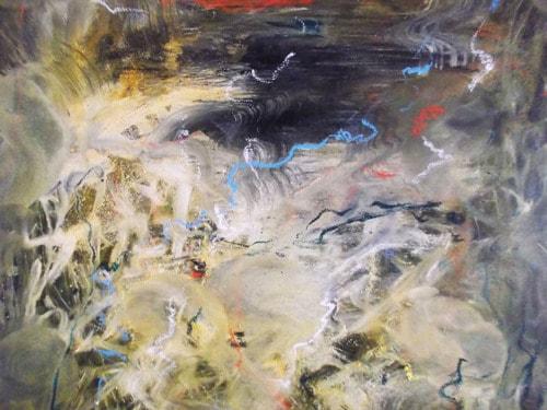 2019  Recent works.  Oil / canvas   60 x 60 cm via Karel Stoop