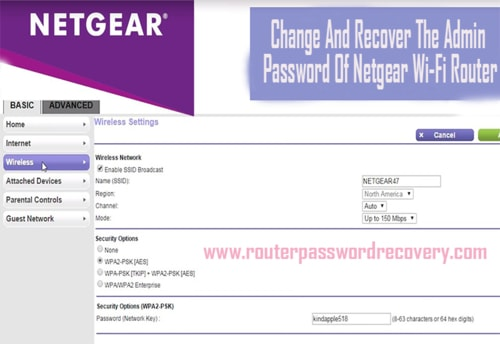 Steps To Change And Recover The Admin Password Of Netgear Wi... via john