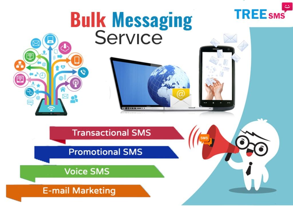 Bulk SMS Service Provider in Dehradun, Uttarakhand via Tree Multisoft