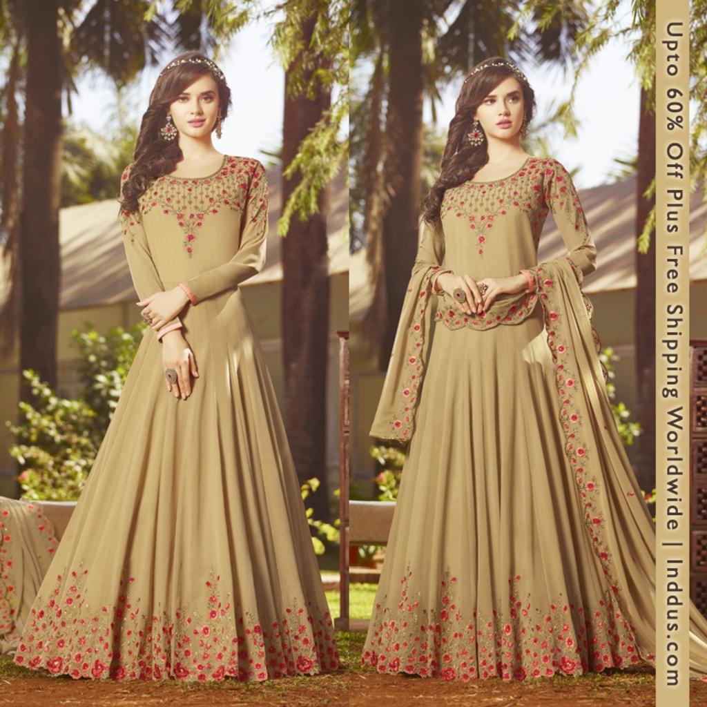 Gown Anarkali Online Shopping via Sagar Singh