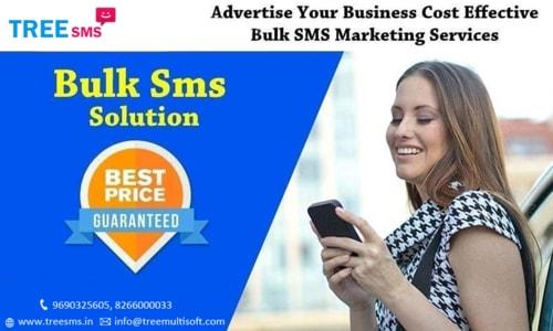 Effective Bulk SMS Marketing Services via Tree Multisoft