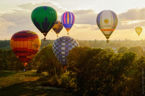 Hot Air Balloon Photographs for Your Inspiration via Leo Erwin Garcia