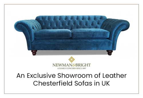 Newman & Bright – An Exclusive Showroom of Leather Chesterfi... via Newman & Bright