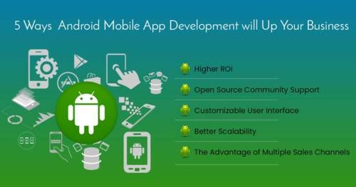 5 Ways Android Mobile App Development will Up Your Business | Synlogics