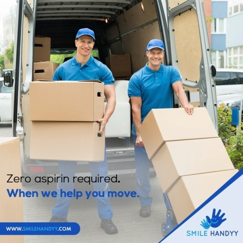 Movers and Packers in Abu Dhabi via Smile Handyy