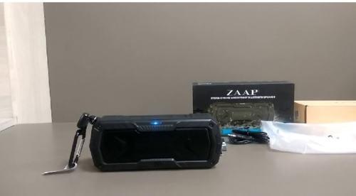 ZAAP Hydra Xtreme Bluetooth speaker- Muscular and Rigid