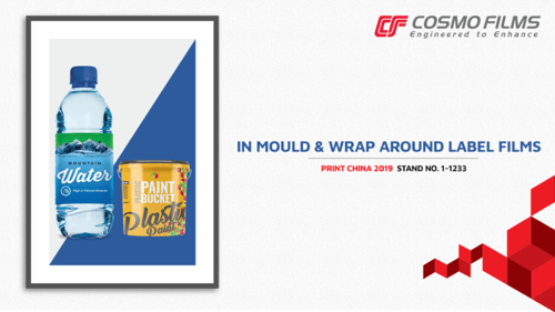 In-mould and Wrap Around Label Films are two of the films be... via Cosmo Films
