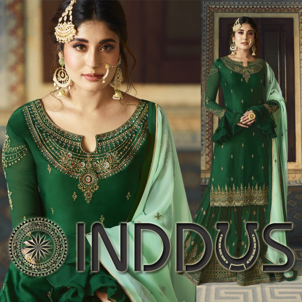 Add richer looks to the persona wearing this bollywood diva ... via Sagar Singh