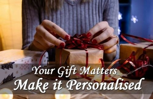 Your #Gift Matters – Make it #Personalised | ModernLifeBlogs... via Amit Verma