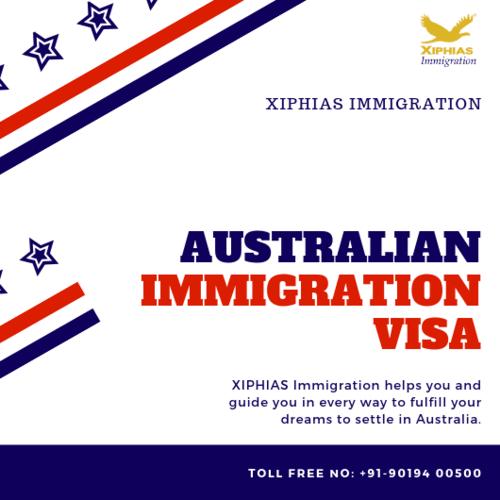 Australian Immigration Visa via XIPHIAS IMMIGRATION