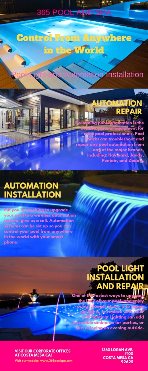 Swimming Pool Repair and Maintenance Services Orange County ... via 365 Pool and Spa