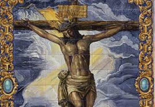 crucification of Jesus Christ via Leo Erwin Garcia