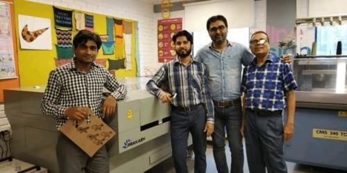Training Workshop Of Laser Cutting Machine In Pearl Academy ... via Prakash Laser