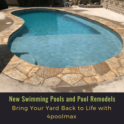 New Swimming Pools and Pool Remodels Orange County via 4poolmax