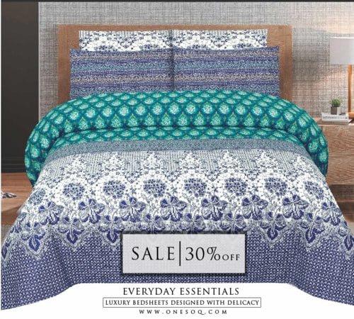 Summer Collection of Beautiful Bed sheets via One Soq