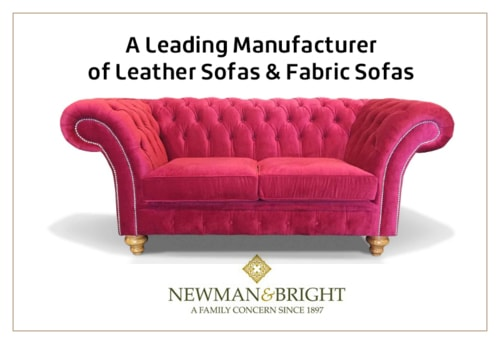 Newman & Bright - A Leading Manufacturer of Leather Sofas & ... via Newman & Bright