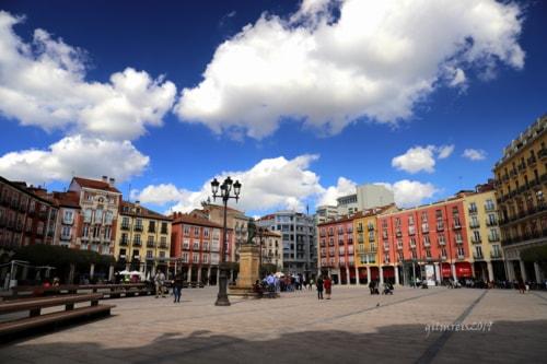 Plaza Mayor via Gil Reis