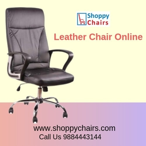 Buy Leather Office Chair Online in Chennai via Shoppy Chairs