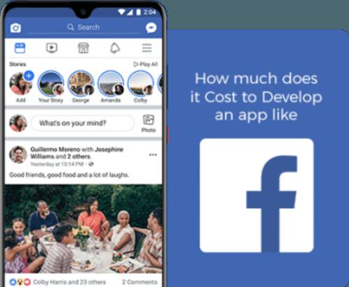 facebook app development cost via sonam gg