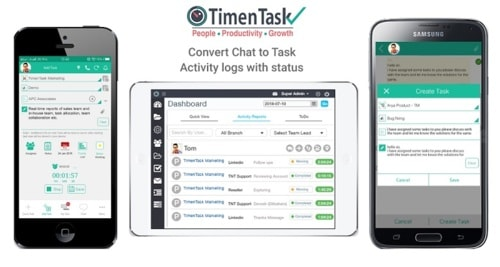 Effective Task Management Software via TimenTask