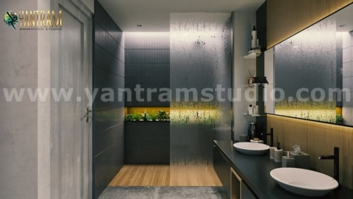 Impressive Residential Interior Design for Home by 3D Animat... via Yantram Studio