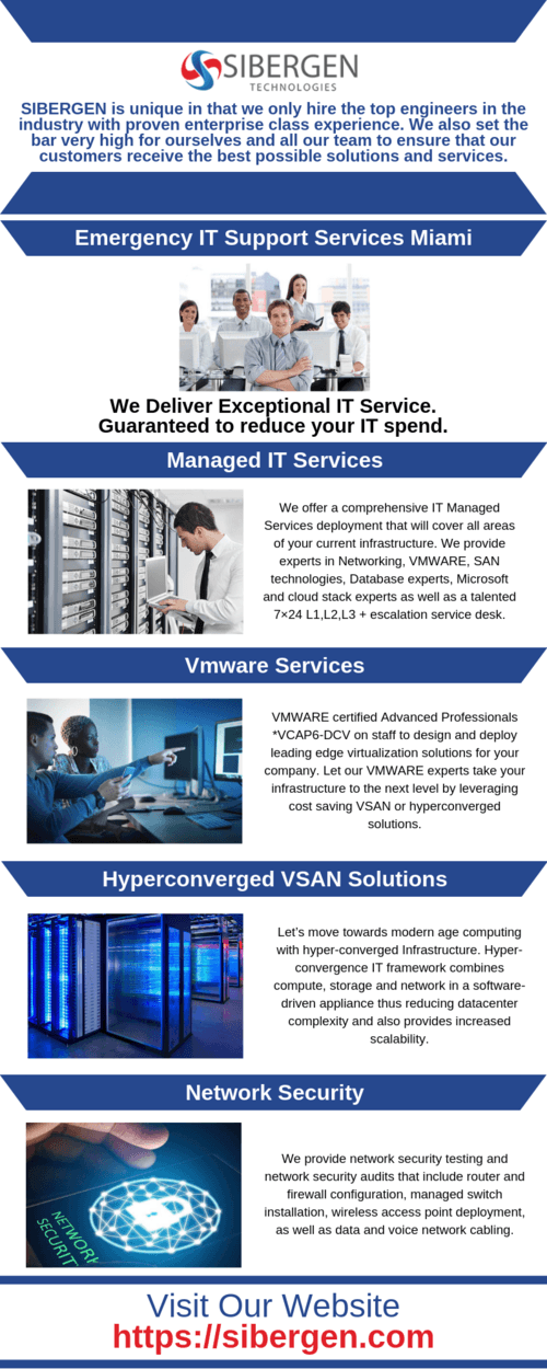 Emergency IT Support Services Miami - SIBERGEN Technologies via SIBERGEN Technologies