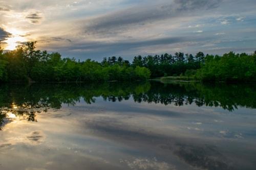 Sunset on the Lake via Steven Hughes