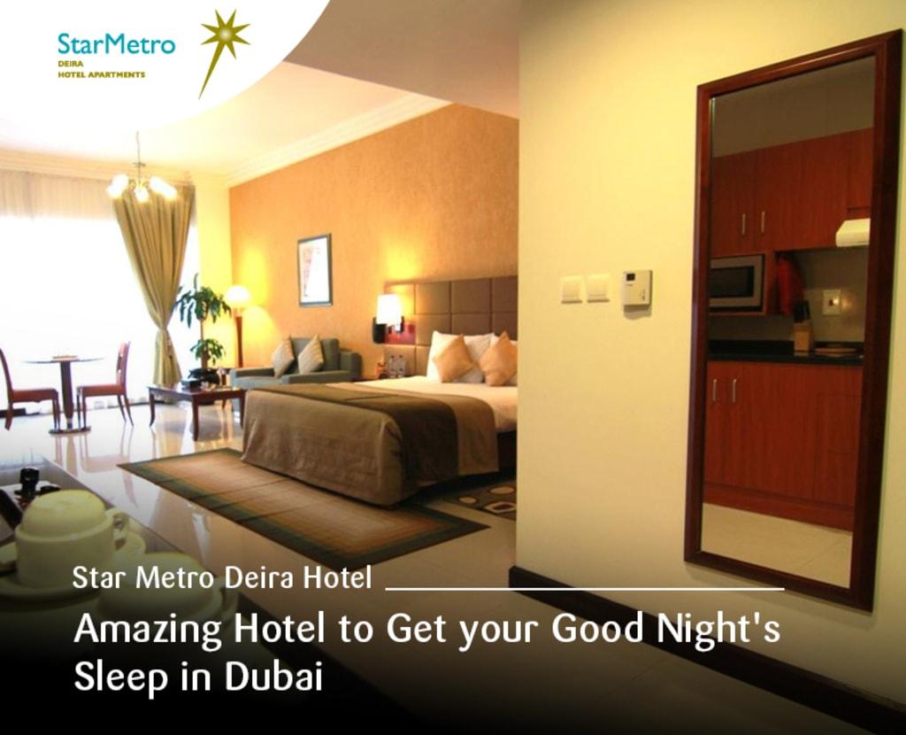 Star Metro Deira Hotel - Amazing Hotel to Get your Good Nigh... via Star Metro Deira Hotel